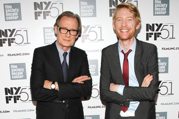 Bill Nighy Domhnall Gleeson 'About Time' Premieres in NYC