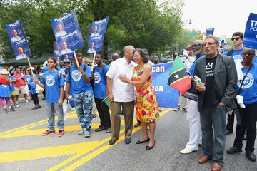 Bill Thompson Annual West Indian Day Parade Draws Crowds In Brooklyn