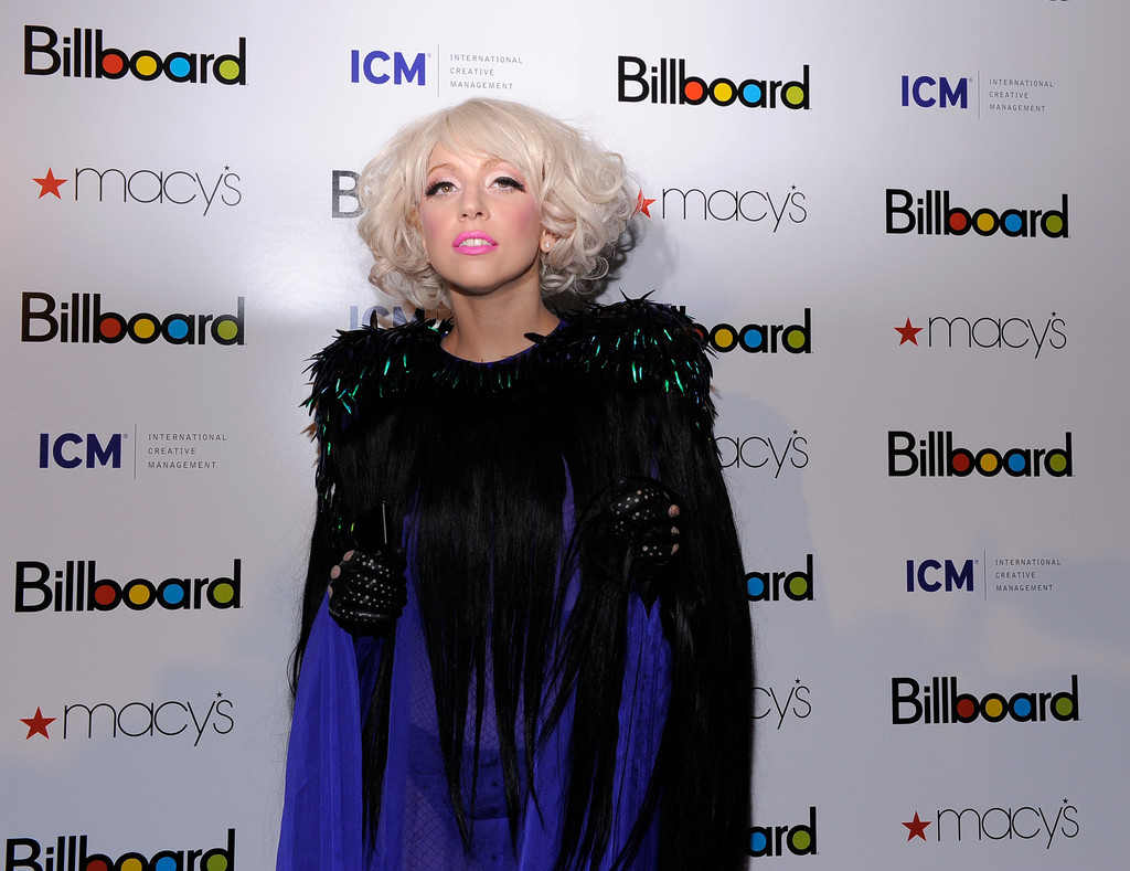 Lady Gaga in Billboard's 4th Annual Women In Music - Zimbio