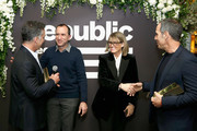 (L-R) Avery Lipman, Silvio Pietrolungo, Deanna Brown, and Monte Lipman attend as Billboard celebrates Republic Records being named Label of the Year at Philippe Downtown on January 28, 2019 in New York City.