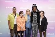 ilovemakonnen, Tegan and Sara, Hayley Kiyoko and Big Freedia attend the Billboard And The Hollywood Reporter Pride Summit on August 08, 2019 in West Hollywood, California.