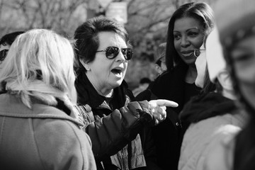 Billie Jean King March For Our Lives New York City