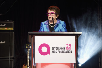Billie Jean King 26th Annual Elton John AIDS Foundation Academy Awards Viewing Party sponsored by Bulgari, celebrating EJAF and the 90th Academy Awards  - Inside