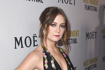 Billie Lourd Moet And Chandon Celebrates 3rd Annual Moet Moment Film Festival And Kick Off Of Golden Globes Week - Red Carpet