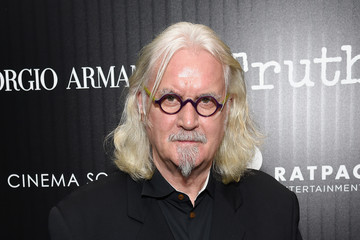 Billy Connolly Giorgio Armani and the Cinema Society Host a Screening of 'Truth' - Arrivals