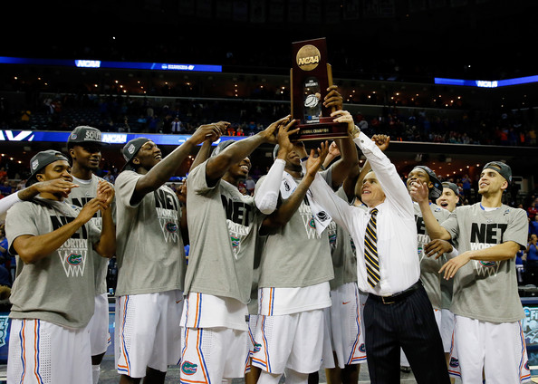 NCAA Basketball Tournament - Regionals - Memphis [championship,team sport,player,tournament,product,team,sports,competition event,ball game,basketball,florida gators,trophy,memphis,fedexforum,tennessee,ncaa basketball tournament - regionals,dayton flyers,final,ncaa mens basketball tournament]