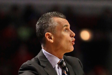 Billy Donovan Oklahoma City Thunder v Chicago Bulls