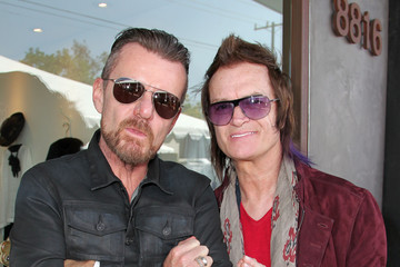 Billy Duffy Inside the John Varvatos Stuart House Benefit