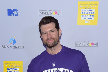 Billy Eichner MTV's 2017 College Signing Day with Michelle Obama - Arrivals
