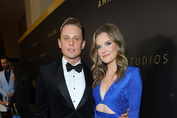 Billy Magnussen Meghann Fahy Amazon Studios Golden Globes After Party - Red Carpet