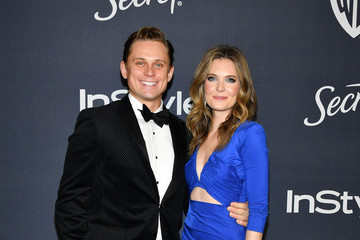 Billy Magnussen Meghann Fahy 21st Annual Warner Bros. And InStyle Golden Globe After Party - Arrivals