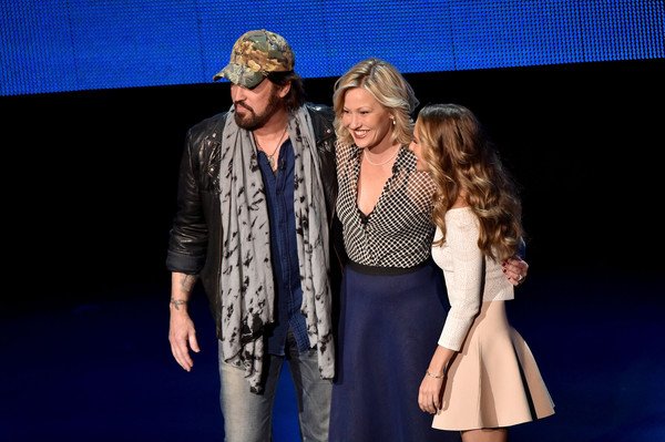2016 Viacom Kids and Family Group Upfront [performance,event,fashion,performing arts,fun,heater,fashion design,stage,photography,musical theatre,billy ray cyrus,joey lauren adams,madison iseman,l-r,new york city,viacom kids and family group,viacom kids and family group upfront]