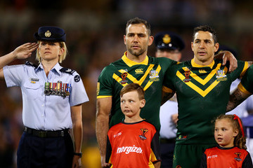 Billy Slater Australia v France - 2017 Rugby League World Cup