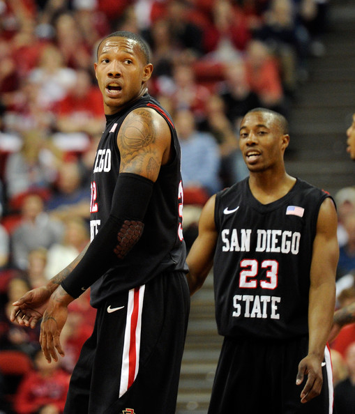 San Diego State v UNLV [sports,basketball player,basketball,ball game,player,team sport,basketball moves,tournament,basketball court,billy white,official,d.j.,v,call,san diego state,unlv,san diego state aztecs,unlv rebels,game]