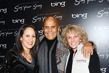 """Pamela Belafonte Gina Belafonte Bing Presents the """"Sing Your Song"""" Official Cast and Filmmakers Dinner - 2011 Park City"""