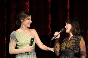 Actress Sandra Bullock and director Susanne Bier attend the European premiere of the film 'Bird Box' at Zoo Palast on November 27, 2018 in Berlin, Germany.