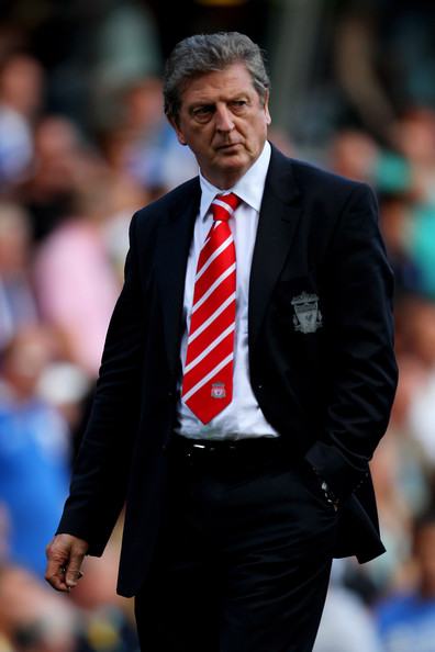 Liverpool Manager Roy Hodgson heads for the dressing room at half time during the Barclays Premier League match between Birmingham City and Liverpool at St Andrew's Stadium on September 12, 2010 in Birmingham, England.