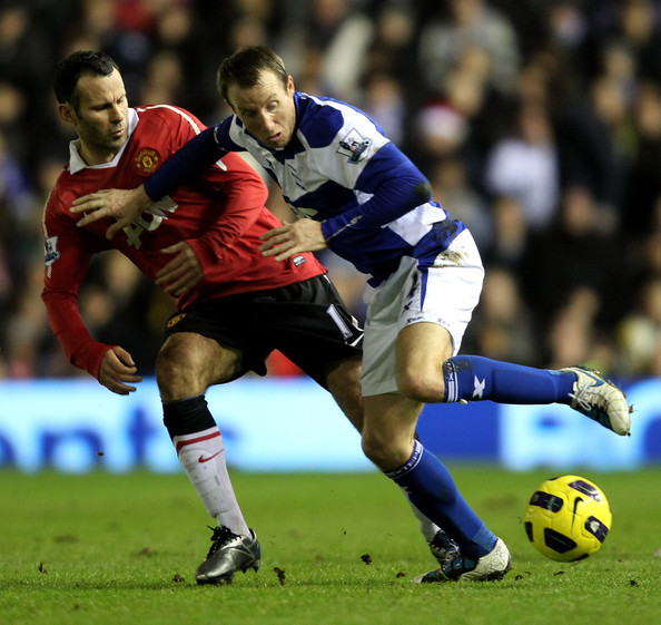 Birmingham United: Lee Bowyer In Birmingham City V Manchester United