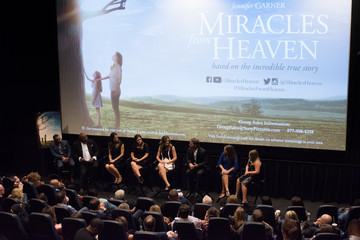 Bishop T.D. Jakes Sony Pictures' 'Miracles From Heaven' Red Carpet Premiere