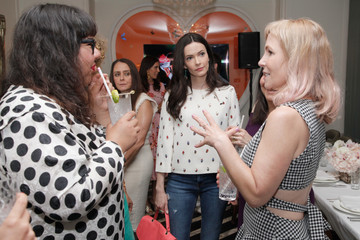 Bitsie Tulloch AMC Hosts An Intimate Luncheon With Joy Nash, Marti Noxo, And Aisha Tyler In Celebration Of Their New Original Series, 'Dietland'