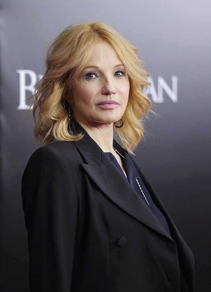 Ellen barkin in black swan new york premiere arrivals 4 of 4 zimbio - Ellen show new york ...