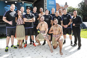 All Blacks players pose with Maori group Ngati Ranana during the Haka 360 Experience Launch Event at Oxo Tower Wharf South Wharf on September 12, 2015 in London, England. The Haka 360 Experience is an app which uses 360 degree video technology to give the viewer the feeling of being on the field with the All Blacks and in the midst of the powerful Maori ritual. The app is available via aig.com/haka360, on the App Store and Google Play.