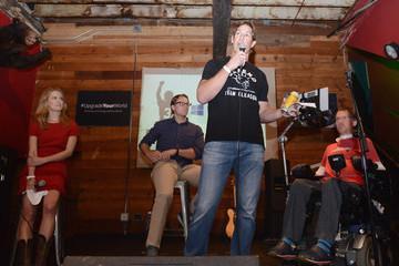 Blair Casey Windows 10 and Team Gleason Host Fireside Chat With Steve Gleason At SXSW