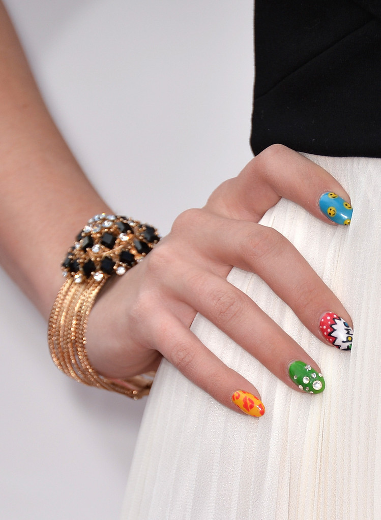 Blair Fowler's Mani is the Perfect Way to Dress Up Black and White