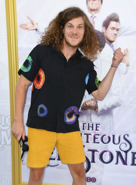 Los Angeles Premiere Of New HBO Series 'The Righteous Gemstones' - Arrivals [the righteous gemstones,clothing,t-shirt,sleeve,smile,style,series,arrivals,blake anderson,california,hollywood,los angeles premiere of new hbo,paramount studios]