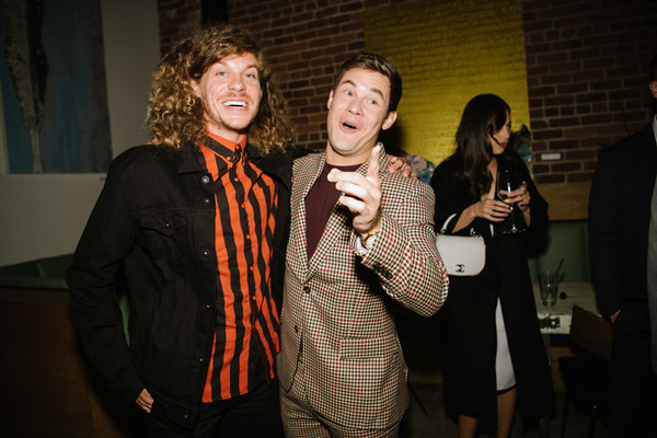 Premiere Of Lionsgate's 'Jexi' - After Party [event,yellow,fashion,fun,design,adaptation,photography,party,performance,night,adam devine,blake anderson,jexi,california,los angeles,lionsgate,premiere,party,party]
