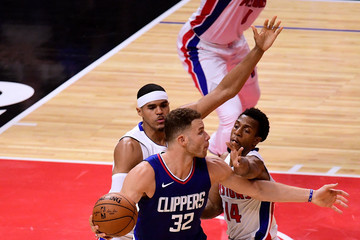 Blake Griffin Detroit Pistons v Los Angeles Clippers