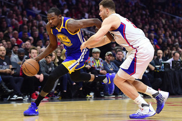 Blake Griffin Golden State Warriors v Los Angeles Clippers
