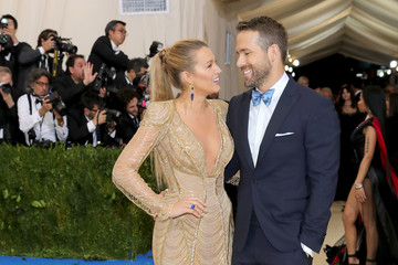 """Blake Lively Ryan Reynolds """"Rei Kawakubo/Comme des Garcons: Art of the In-Between"""" Costume Institute Gala - Arrivals"""