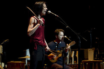 Blake Mills Fiona Apple and Blake Mills Perform in Portland