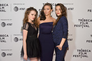 """Nadia Alexander, Trieste Kelly Dunn and Quinn Shephard attend the """"Blame"""" Premiere during 2017 Tribeca Film Festival at Cinepolis Chelsea on April 22, 2017 in New York City."""