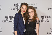 """Director Quinn Shephard and Actor Nadia Alexander attend the """"Blame"""" Premiere during 2017 Tribeca Film Festival at Cinepolis Chelsea on April 22, 2017 in New York City."""