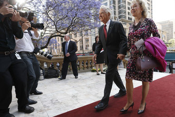 Blanche D'Alpuget State Memorial Service Held for Gough Whitlam