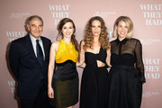 """(L-R) Robert Forster, Taissa Farmiga, Hilary Swank and Elizabeth Chomko attend Bleeker Street Presents Los Angeles Special Screening Of """"What They Had""""  at iPic Westwood on October 9, 2018 in Westwood, California."""