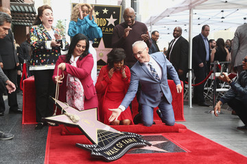 Blige Taraji P. Henson Honored With Star On The Hollywood Walk Of Fame