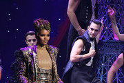 Halima Aden walks the runway for The Blonds x Moulin Rouge! The Musical during New York Fashion Week: The Shows on September 09, 2019 in New York City.