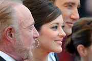 Actors James Caan, Marion Cotillard and Clive Owen attend the 'Blood Ties' Premiere during the 66th Annual Cannes Film Festival at the Palais des Festivals on May 20, 2013 in Cannes, France.
