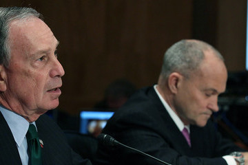 Michael Bloomberg Raymond Kelly Bloomberg And NPYD Police Chief Testify Before Senate On Terrorism And Guns
