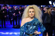 """Tallia Storm attends the """"Blue Story"""" world premiere at Picturehouse Central on November 14, 2019 in London, England."""
