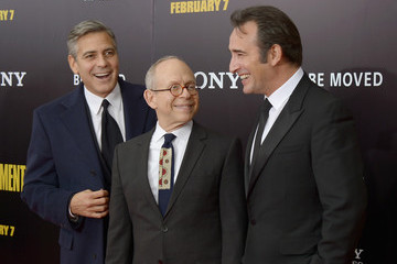 Bob Balaban Jean Dujardin 'Monuments Men' Premieres in NYC