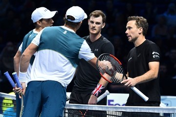 Bob Bryan Jamie Murray Day Two - Nitto ATP World Tour Finals