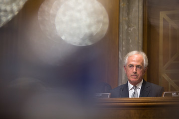 Bob Corker Tillerson and Mattis Testify at Senate Hearing on Authorization of Use of Force
