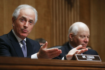Bob Corker Senate Foreign Relations Committee Holds Hearing On U.S.-Russian Relationship