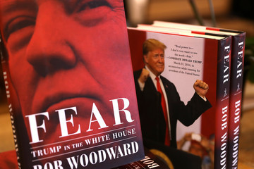 Bob Woodward Bob Woodward's Book 'Fear' On Trump Administration Hits Store Shelves