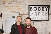 (L-R) Betty Who and Bobby Berk attend the Bobby Berk's A.R.T. Furniture Launch Event on November 05, 2019 in Los Angeles, California.