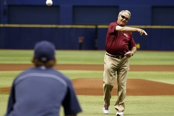 Bobby Bowden Los Angeles Angels of Anaheim v Tampa Bay Rays